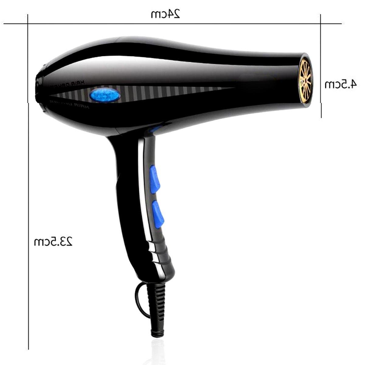 AUGIENB Hair <font><b>Dryer</b></font> Hot <font><b>Ionic</b></font> Heating Household Hairdressing Salon