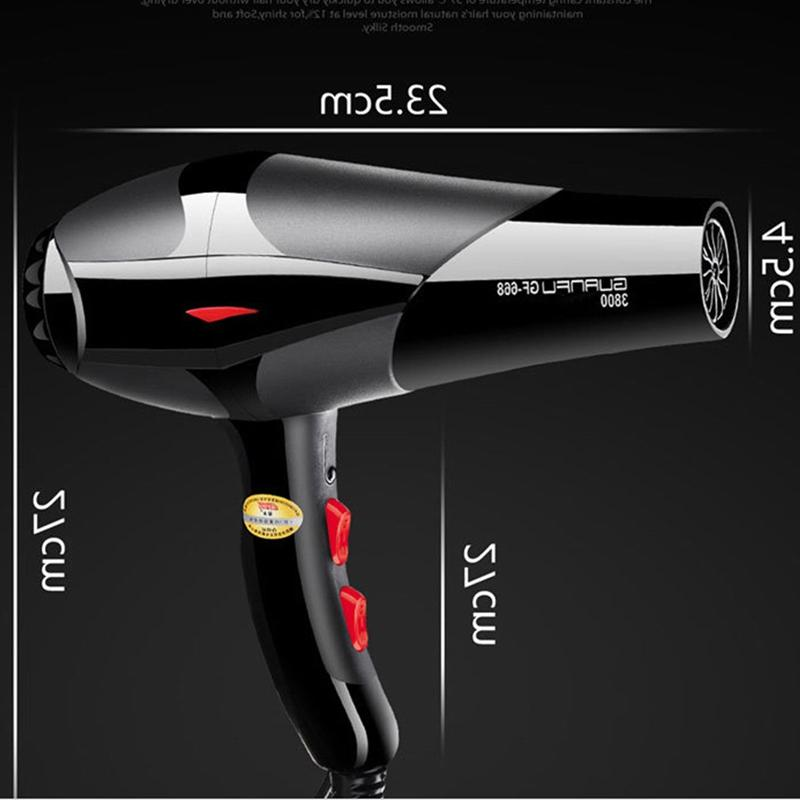 2400W Professional Electric <font><b>Dryer</b></font> Salon Speed 2 Heat Hairdressing Eu Plug