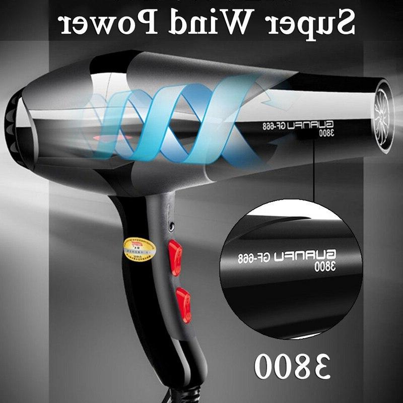 2400W <font><b>Dryer</b></font> Salon 2 Heat Hairdressing <font><b>Blow</b></font> Eu Plug