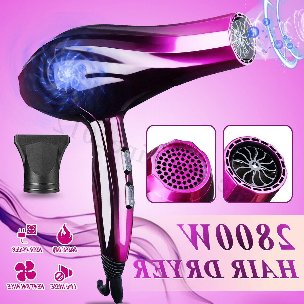 2800w hair blow dryer dry powerful 3