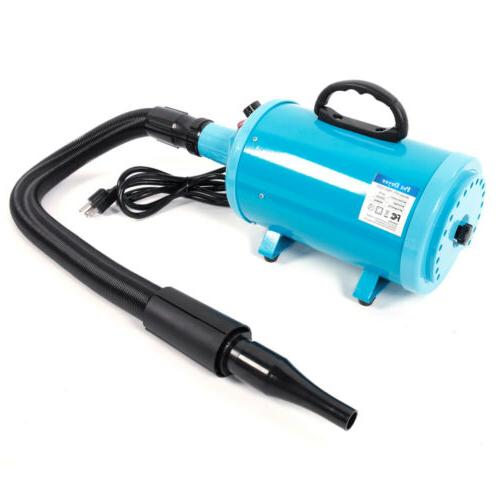2800W Portable Dog Pet Grooming Blow Blue