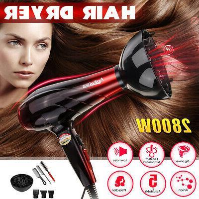 2800W Professional Hair Dryer Diffuser