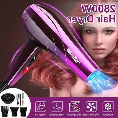 2800w professional electric blow hair dryer salon