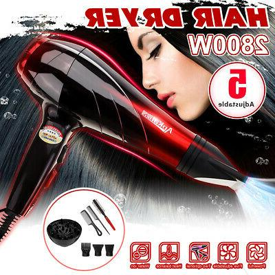2800W Professional Hair Blow Dryer Heat Salon