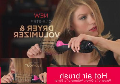 2in1 Dryer & Curler Brush