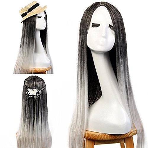 "3-8 Days Delivery Neverland Beauty 24"" Ombre Two Tone Synthe"