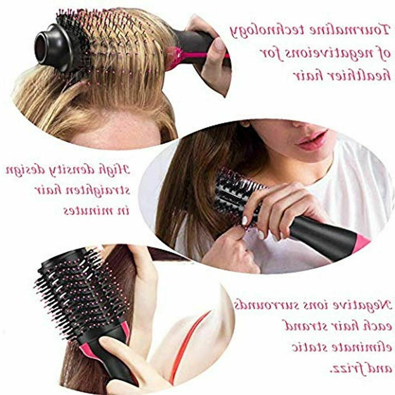 3-in-1 Hair Volumizer Straightener Infrared Hot