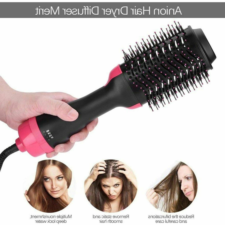 3-in-1 Hair Blow Volumizer Infrared Hot Air