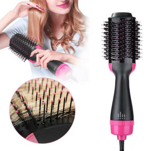 3 1 Hair Dryer Brush Comb Hot Air Dryer Styler Smooth
