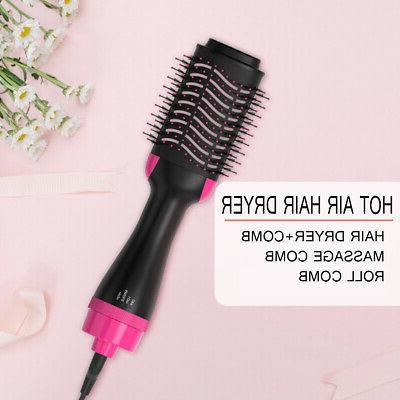 3 in1 Hair Dryer Air Curler Heat Brush