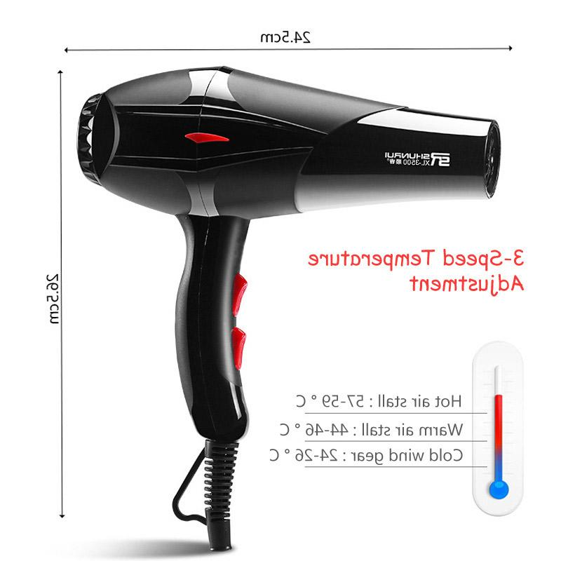 3200W <font><b>Dryer</b></font> Barber Salon Tools Low Hair <font><b>Dryer</b></font> Fan