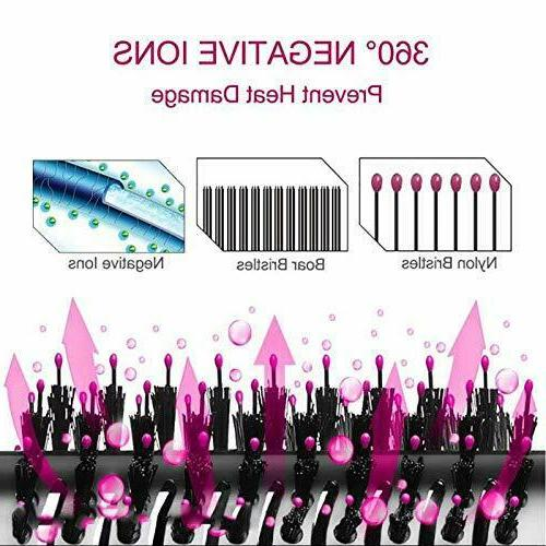 3in1 Blow Styler Curling Iron Comb