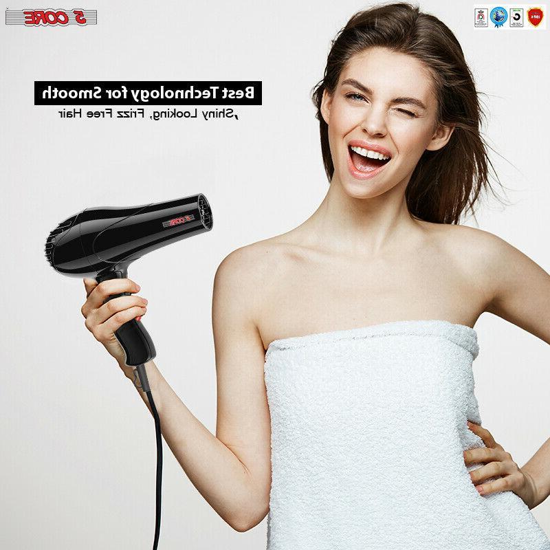 5Core Ionic Hair Dryer Blower Ceramic HDS