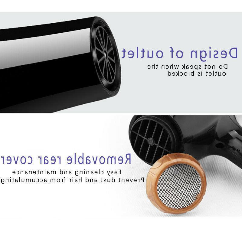 6PCS/Set Hair Dryer Dryer Diffuser/Comb Salon Plug