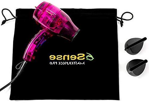 6th Ionic Hair Handmade Workhorse; Dual Generator, Ergonomic Design Workmanship w Bag