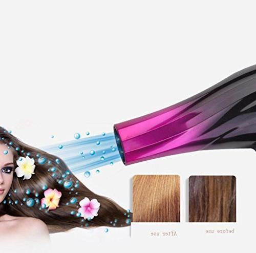 Amiley Hair 2800W Salon Ionic Ceramic Dryer Achieve Fast Results 2 2 Settings