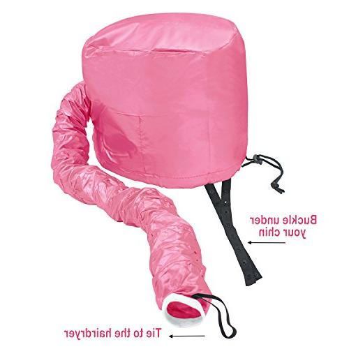 Beautyours Portable Dryer Hair Styling Pink