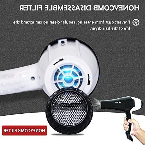 Benjet Professional Power Negative Hair Salon Cold Buckle, Low
