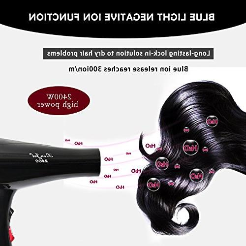 Benjet 2400w Power Hair Dual-Use, Cold Volume, Faster Drying