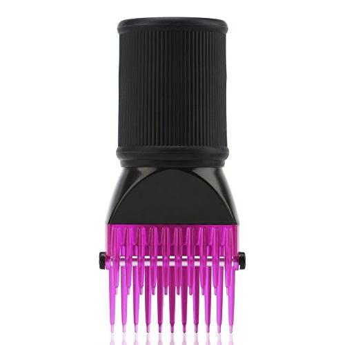 Blow Dryer Segbeauty Hair Blower Concentrator Brush Attachments, Hairdressing Styling Salon Tool Pic Fine, Curly, Hair