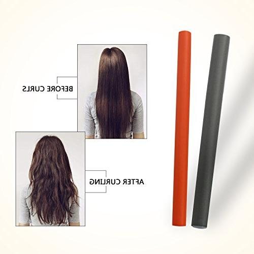 Bonnet Dryer Curling Rods, Flexible Curly Hair And Hood Help Your And Your Hair - With Wand Set