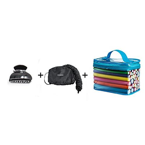 Bonnet Hair Curling 42 Pack Flexible And One Hood Help Your Hair Shaping And Care - With Wand Set
