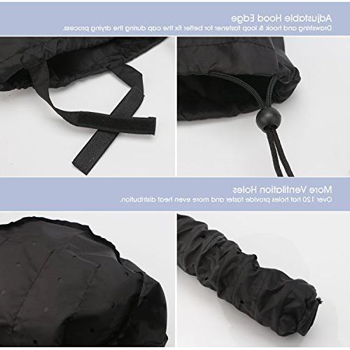 Bonnet Hair Dryer Deep Blower Annex Heat Security Care Beauty Steamer Cap