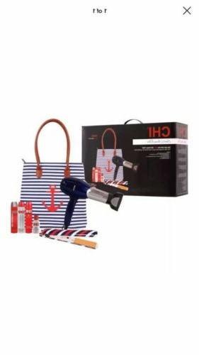 CHI Blow Dryer & CHI Flat Iron Limited Edition Nautical with
