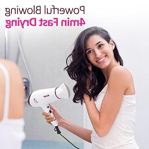 Hair Dryer Blow Blower Low Speed Settings