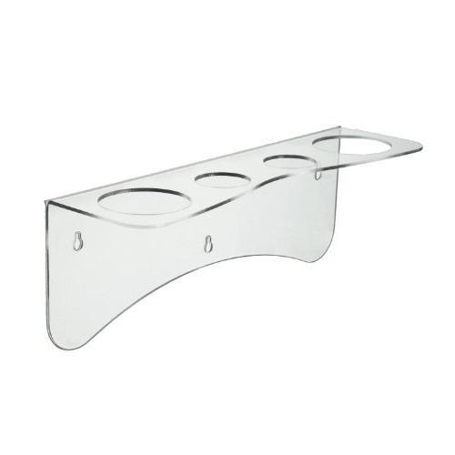 Healthex 4 Holed Stylist Clear Cosmetic Organizer / Storage