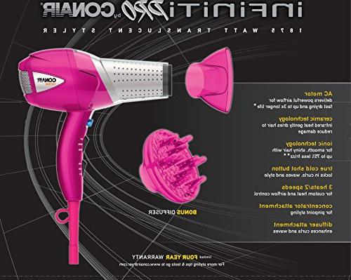 Infiniti Pro 1875 Watt Translucent