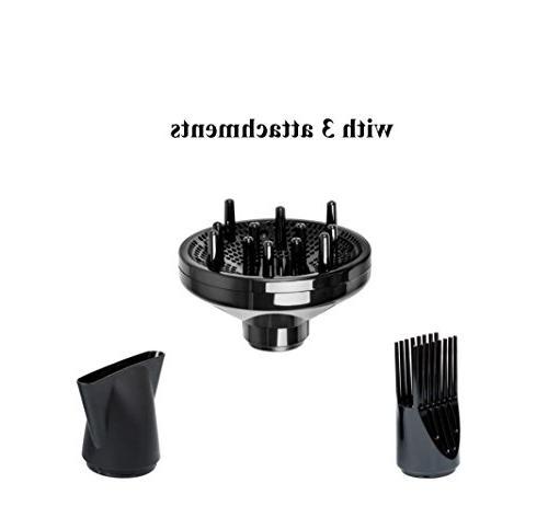 Jinri Hair Dryer Professional Salon AC Negative Ionic Blow Straightenning 2 3
