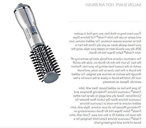 John Spin Brush, AND 2-inch