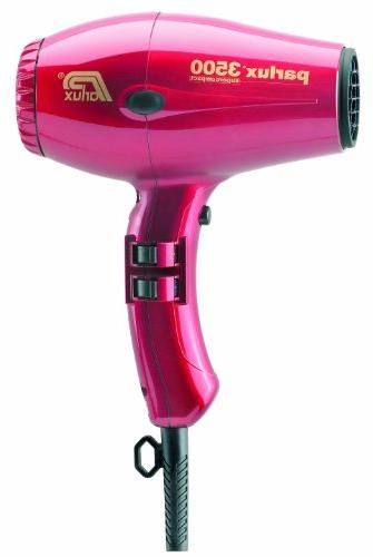 Parlux 3500 Super Compact Hair Dryer - Red