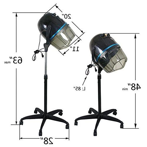 Professional Hooded Stand Rolling with