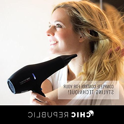 Professional - Dryer - Fast Hairdryer - Small, Ultra Lightweight Compact for Travel Nozzles - Premium