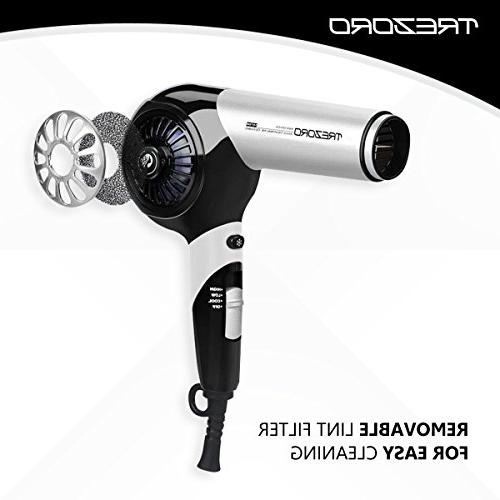 Professional Hair Quiet Blow Salon Lightweight Hairdryer