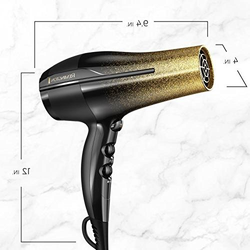 Remington Fast Hair with Ionic and Ceramic Black &
