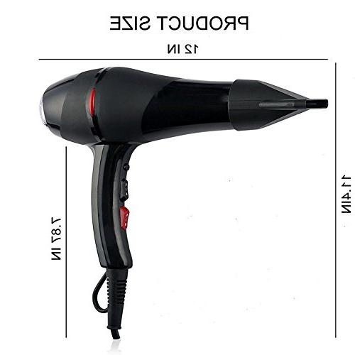 SEEKSUNG Dryer Hair 2000W High Power Salon Professional To Mouth