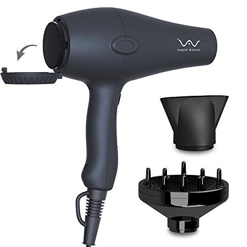 VAV Hair Blow Concentrator Cool 2 Heat Settings Motor Black