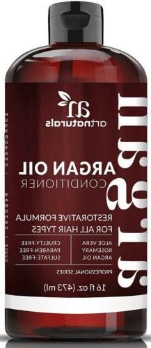 ArtNaturals Argan Oil Hair Conditioner  -  - Sulfate Free -