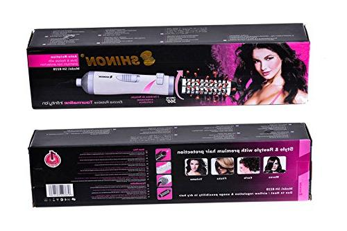SHINON Curling Iron Automatic Curler Curling with Auto Rotating 1 1/2 for Blow with Curls