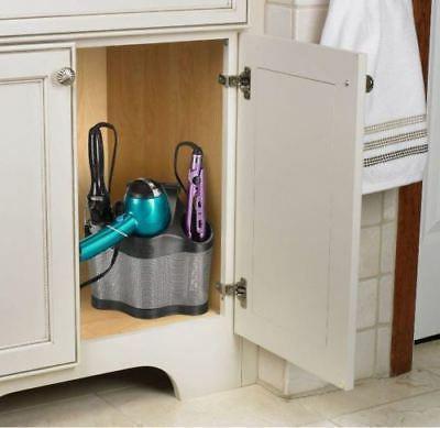 Bathroom Dryer Curling Iron Holder Hair Care Stand Organizer Tool