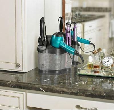 Bathroom Iron Holder Care Stand Organizer Tool