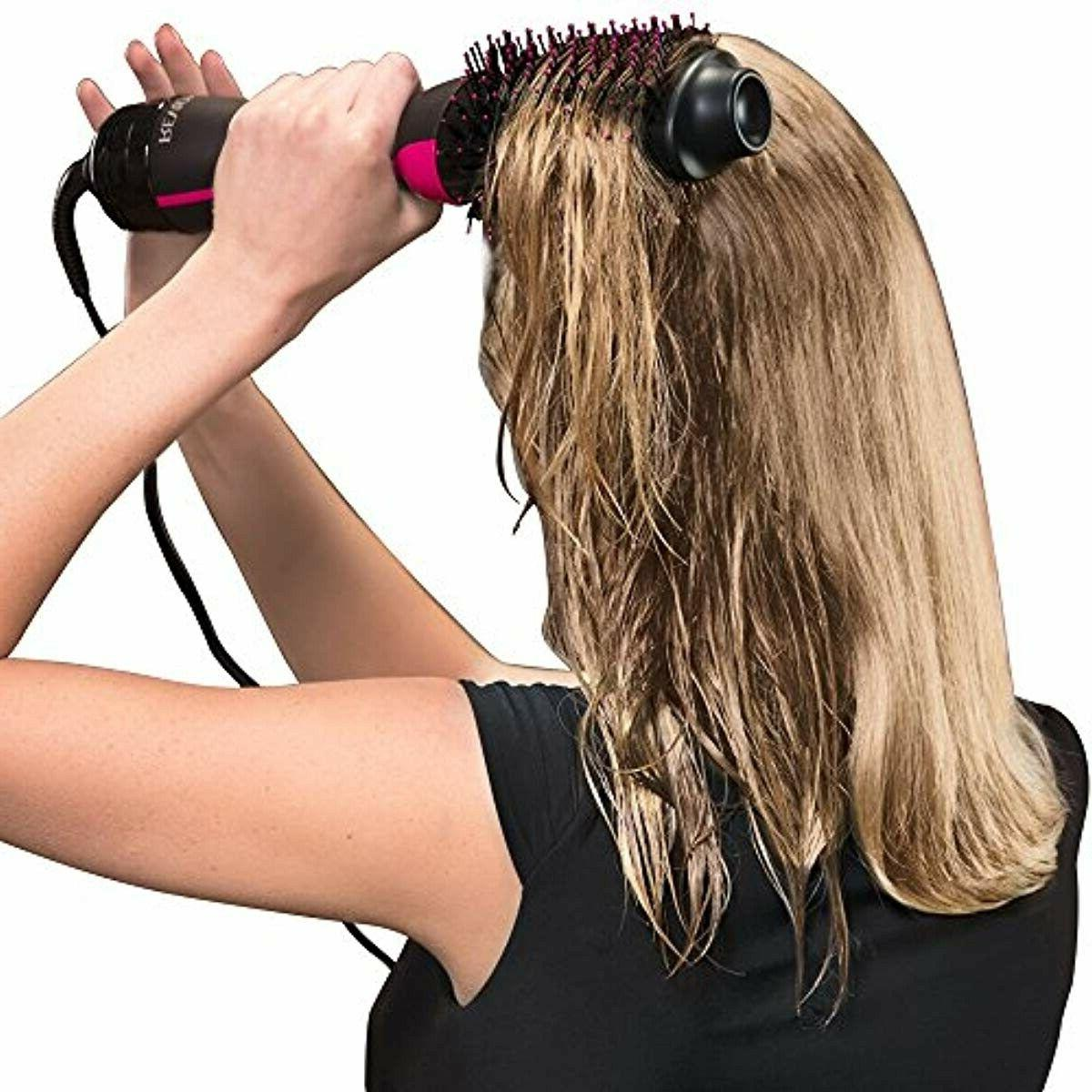 Blow Dryer Brush Hair Volumizing Air Drying Styler Har