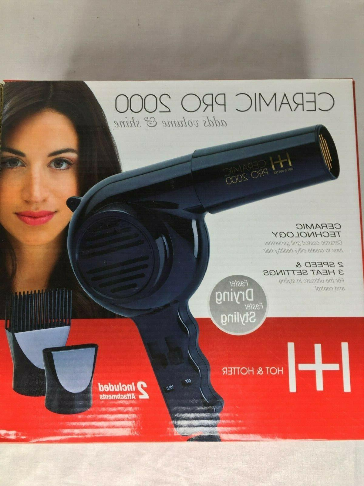 blow dryer ceramic pro 2000 hot