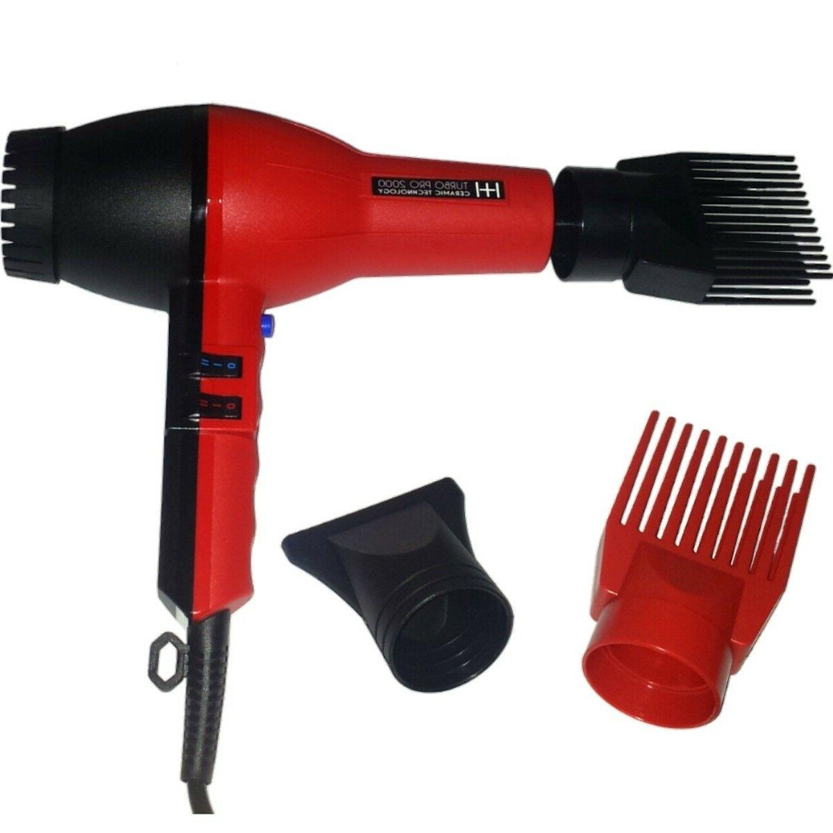 BLOW DRYER, & HOTTER, TUBO RED, DRYER SALON, NEW