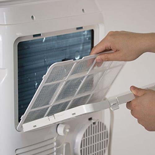 BLACK DECKER BTU Unit 11000 Heater, Window Caster White