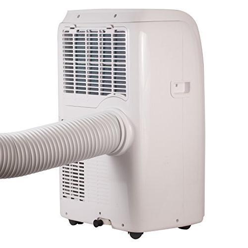 BLACK + BTU Unit Heater, Window Caster Wheels, White