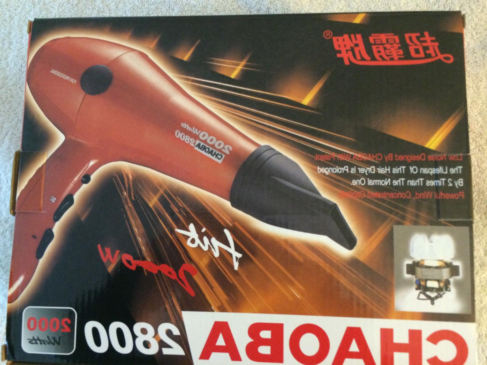 CHAOBA Noise Professional BLOW DRYER